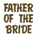FATHER OF THE BRIDE embroideredshirt