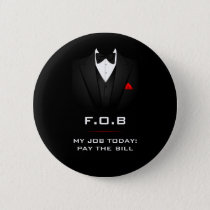 Father of the Bride Funny Customizable Button