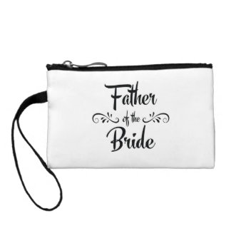 Father of the Bride Funny Rehearsal Dinner Coin Purse