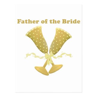 Father of the Bride Gifts Postcard