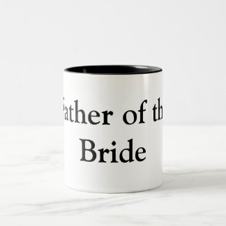 Father of the Bride Gifts Two-Tone Coffee Mug
