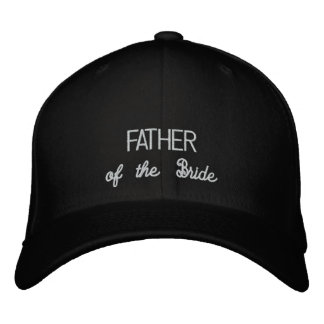 FATHER of the Bride hat Baseball Cap