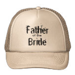 Father of the Bride Hat Trucker Hat