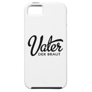 Father of the bride iPhone SE/5/5s case