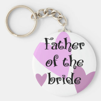 Father of the Bride Key Chains