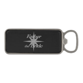 Father of the Bride Magnetic Bottle Opener