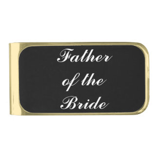 """Father of the Bride"" Money Clip"