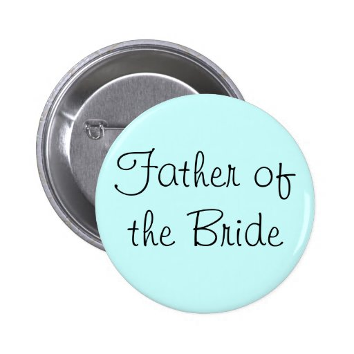 Father of the Bride Pin