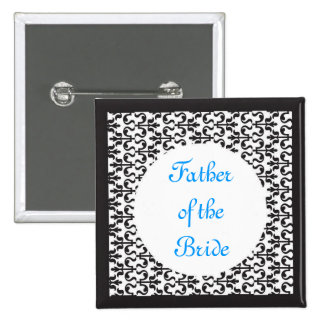 Father of the Bride Pinback Buttons