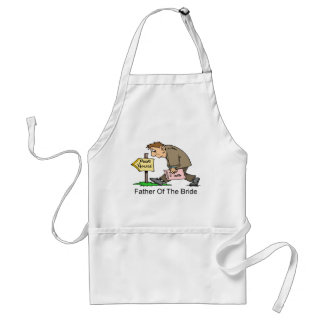 Father Of The Bride (poor house) Adult Apron