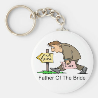 Father Of The Bride (poor house) Keychain