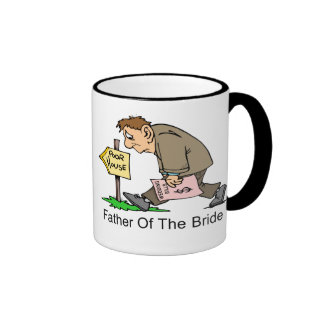 Father Of The Bride (poor house) Ringer Coffee Mug