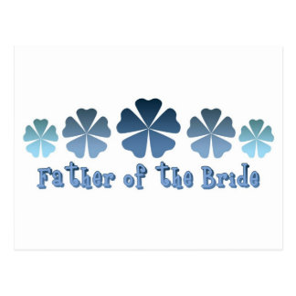 Father of the Bride Post Card