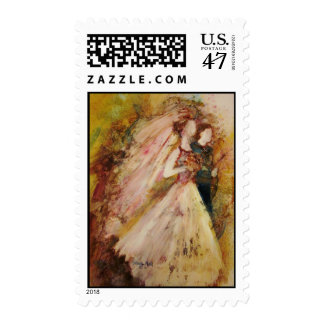Father of The Bride Postage Stamp