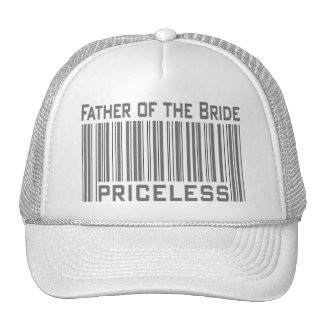 Father of the Bride Priceless Trucker Hat