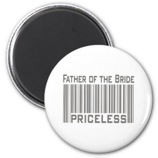 Father of the Bride Priceless Magnets