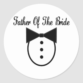 Father of the Bride Sticker