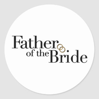Father Of The Bride Stickers