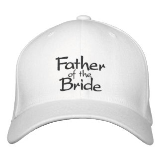 Father of the Bride Stylish Embroidered Hats