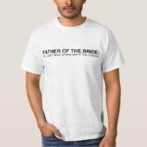 Father of the Bride Tee - Funny