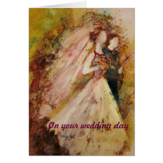 """""""Father Of The Bride"""" Wedding Card"""