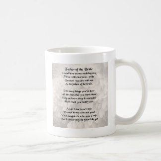 Father of the Bride - White Coffee Mug