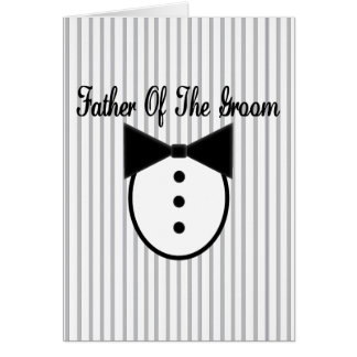 Father of the Groom Cards