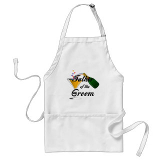Father of the Groom Champagne Toast Adult Apron