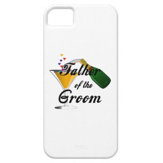 Father of the Groom Champagne Toast iPhone SE/5/5s Case