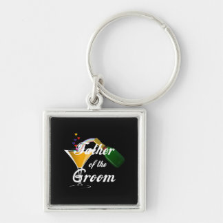Father of the Groom Champagne Toast Key Chain