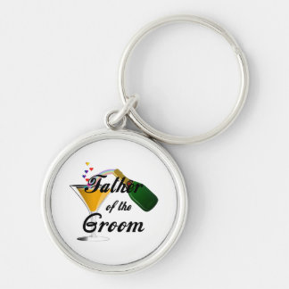 Father of the Groom Champagne Toast Key Chains