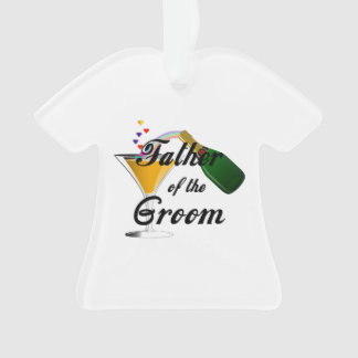 Father of the Groom Champagne Toast Ornament