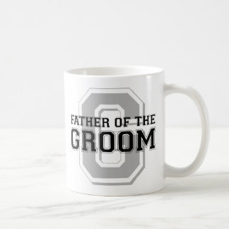 Father of the Groom Cheer Classic White Coffee Mug