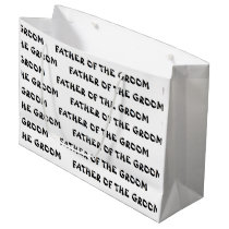 """""""Father of the Groom"""" Gift Bag"""