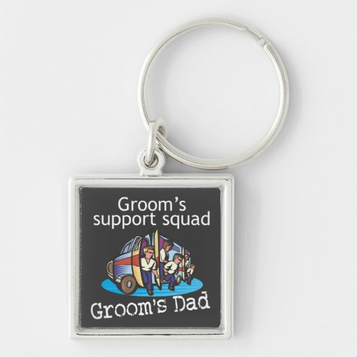 Father of the Groom Key Chain