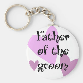 Father of the Groom Key Chains