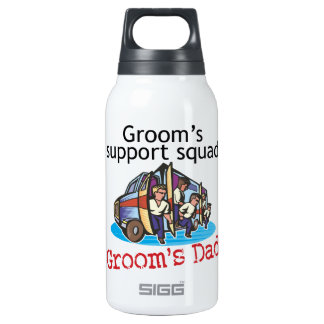 Father of the Groom Thermos Water Bottle