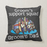 Father of the Groom Throw Pillows