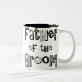 Father of the Groom  Two-Tone Coffee Mug