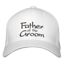 FATHER OF THE GROOM WEDDING CAP
