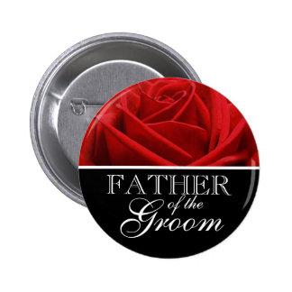 Father Of The Groom Wedding Designation Pins