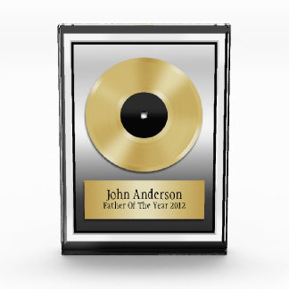 Miscellaneous Acryllic Awards - Father Of The Year Plaque Award