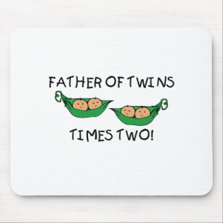 Father of Twins 2X Pod Mouse Pad