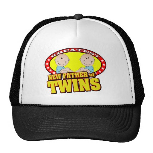 Father of Twins Cap Trucker Hat