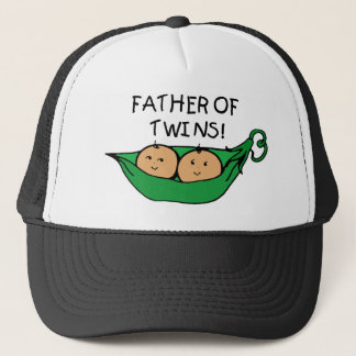 Father of Twins Pod Trucker Hat