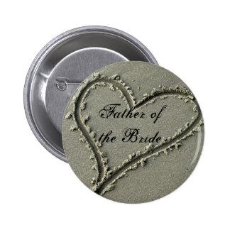Father ofthe Bride Pinback Button