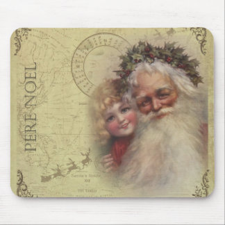 Father Pere Noel Mouse Pad