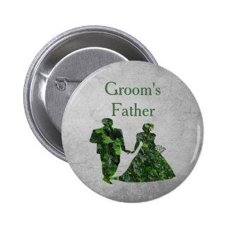 Father Pin del hombre verde de la hiedra y de Pin Redondo 5 Cm