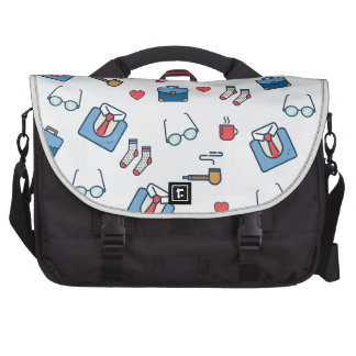 Father pipe pattern bag for laptop