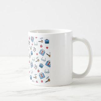 Father pipe pattern coffee mug